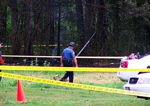 Arkansas Air Evac Lifeteam Helicopter Crash Site